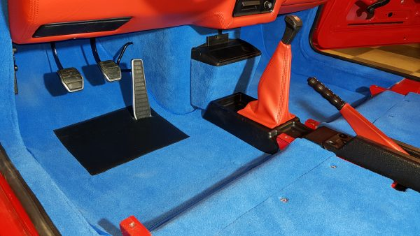 Renault 5 Turbo R5T R5 rouge kit moquette R5T1 R5T2 bleu