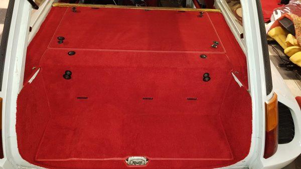 Renault 5 Turbo 2 R5T2 R5 T2 kit moquettes rouge