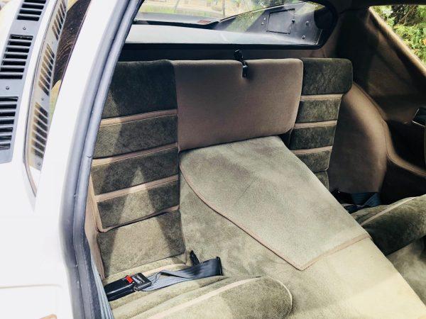 Renault Alpine A310V6 A310 V6 beige rear seat