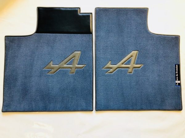 Renault Alpine A310 pair on blue carpet