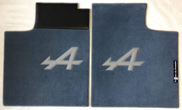 Renault Alpine A310 pair on carpet on grey carpet