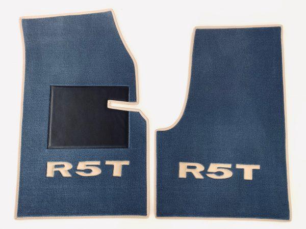 R5 Turbo R5T Renault sur-tapis otranto bordé beige