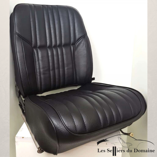 Housse de siège origine inclinable A110 simili noir