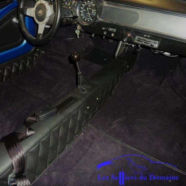 Kit Complet simili moquette Alpine A110 V85 / 1600sSelleries Alpine Renault intérieur