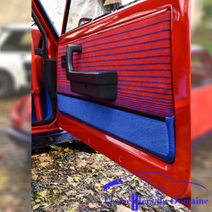 Garniture de porte Renault 5 Turbo tissu orignine bas de porte moquette T1 R5T