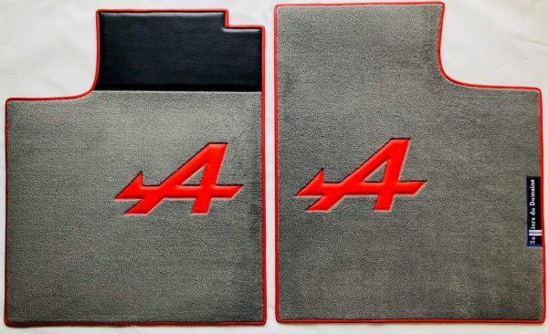 Renault Alpine A310 V6 A310V6 pair on red grey carpet