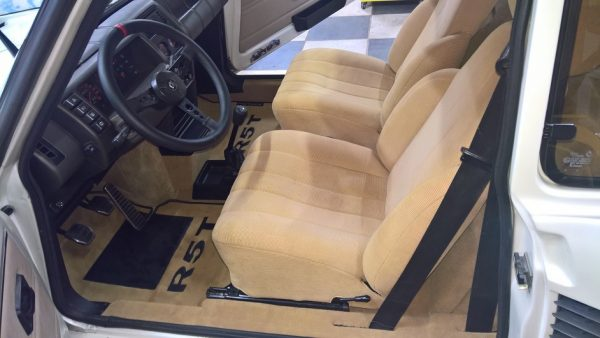 Renault 5 turbo 1 2 R5T R5T1 R5T2 T1 T2 velours beige