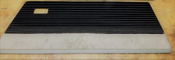 Renault 5 turbo 1 2 R5T R5T1 R5T2 portes porte T1 T2 velours noir rayé gris