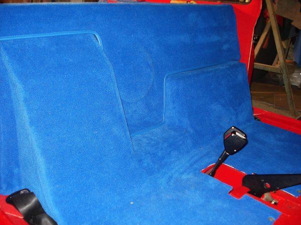 Renault 5 turbo 1 2 R5T R5T1 R5T2 T1 T2 kit moquette bleu