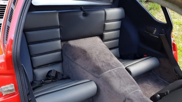 Renault Alpine A310 A310V6 V6 rear seat seat anthractite grey
