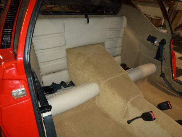 Renault Alpine A310 A310V6 V6 rear seat seat beige mocking