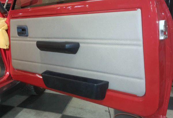 Renault 5 Turbo R5T R5 R5T1 R5T2 porte gris rouge