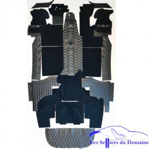 Kit Complet simili moquette Alpine A110 V85 Selleries Alpine Renault intérieur