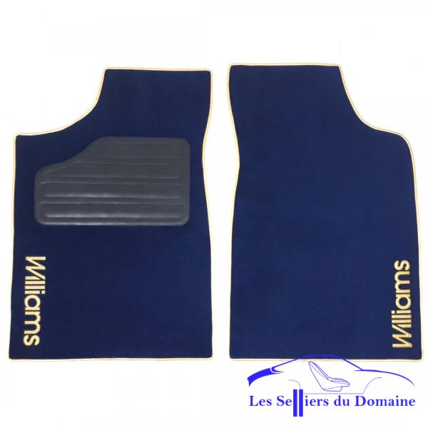 Renault Clio Williams Sur-Tapis moquette bleu W noir