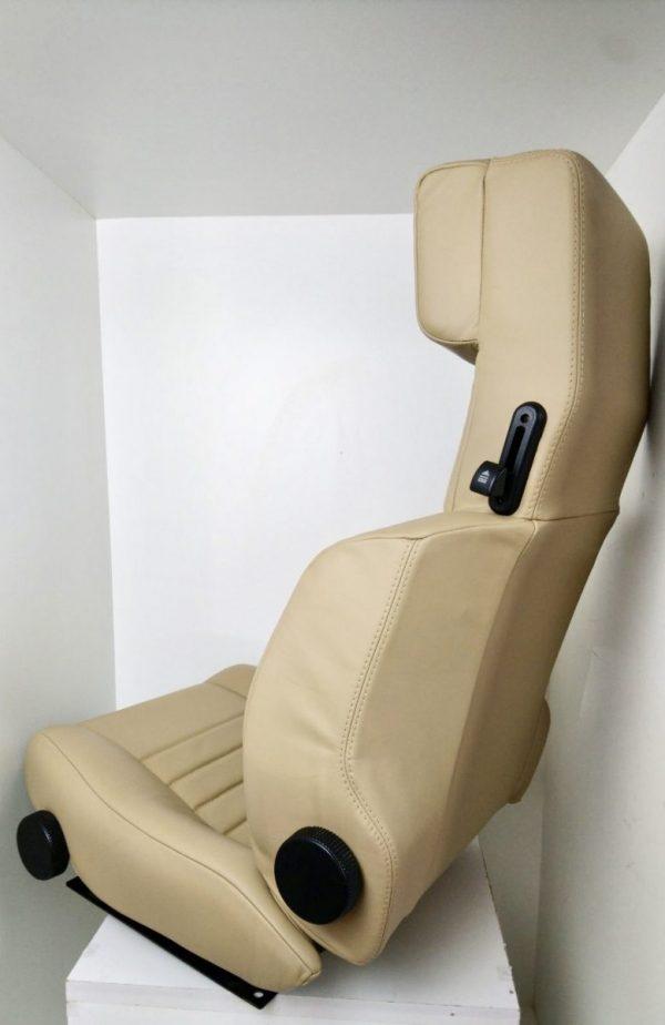 Garniture siège siege V6 GT Alpine Renault V6GT beige cuir
