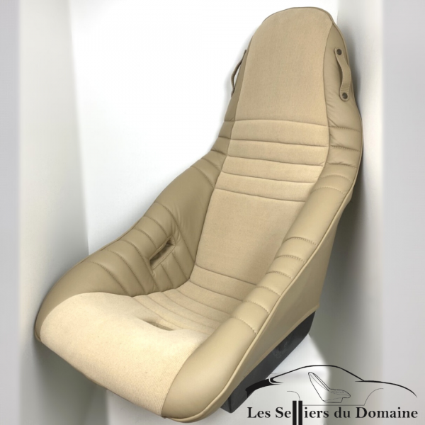 ISA Grand Mod Plastia in leather and beige velvet Alpine Renault A310 V6