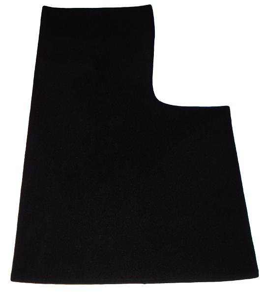 Renault Alpine A310 V6 A310V6 front floor mat straight black carpet
