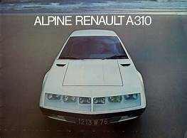 Alpine A310 4 cylindres
