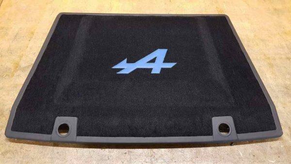 Renault Alpine V6GT V6 GT blue black carpet engine hood