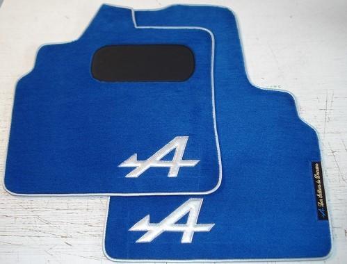 Renault Alpine A610 A610V6 V6 sur tapis sur-tapis moquette noir bleu gris