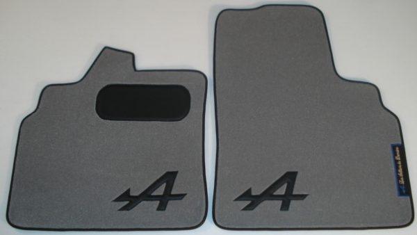 Renault Alpine A610 A610V6 V6 sur tapis sur-tapis moquette gris noir