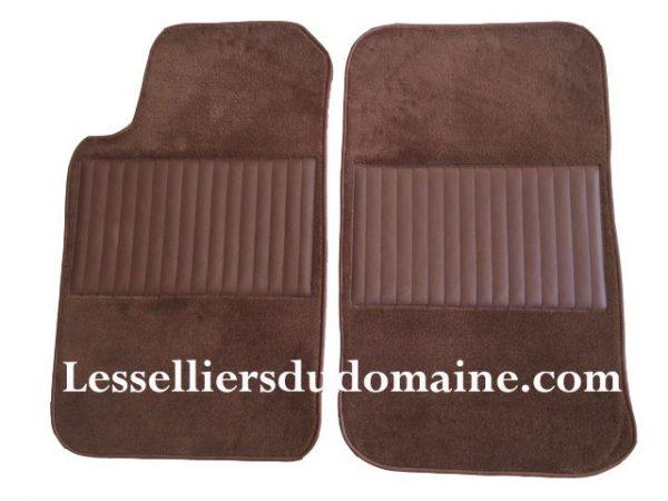Alfa Romeo Roméo sur tapis sur-tapis moquette marron chocolat