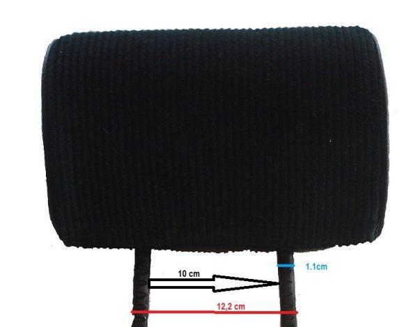 Siège siege alpine renault PMC petit modèle modele classique mod'plastia alpine velours cuir simili noir repose tête tete