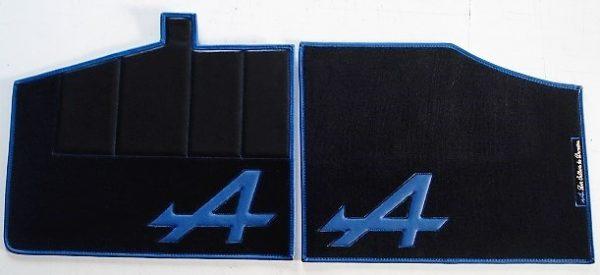 Renault Alpine V6GT V6 GT set sur tapis sur-tapis moquette noir bleu