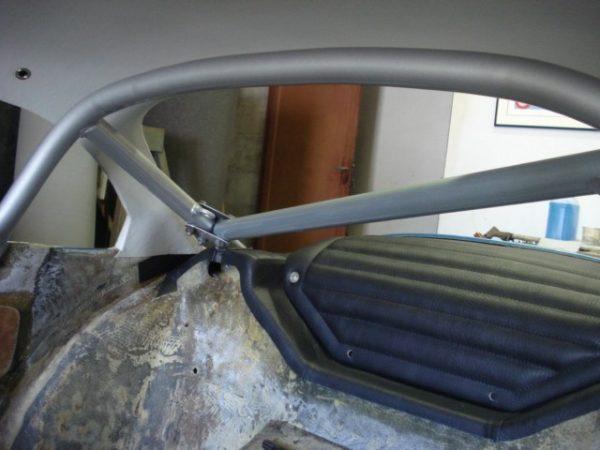 Renault Alpine A110 Berlinette simili noir plage arriere arrière