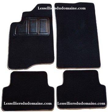 Renault Laguna sur tapis sur-tapis moquette noir