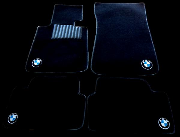 BMW BM series 1 on carpet on carpet black carpet