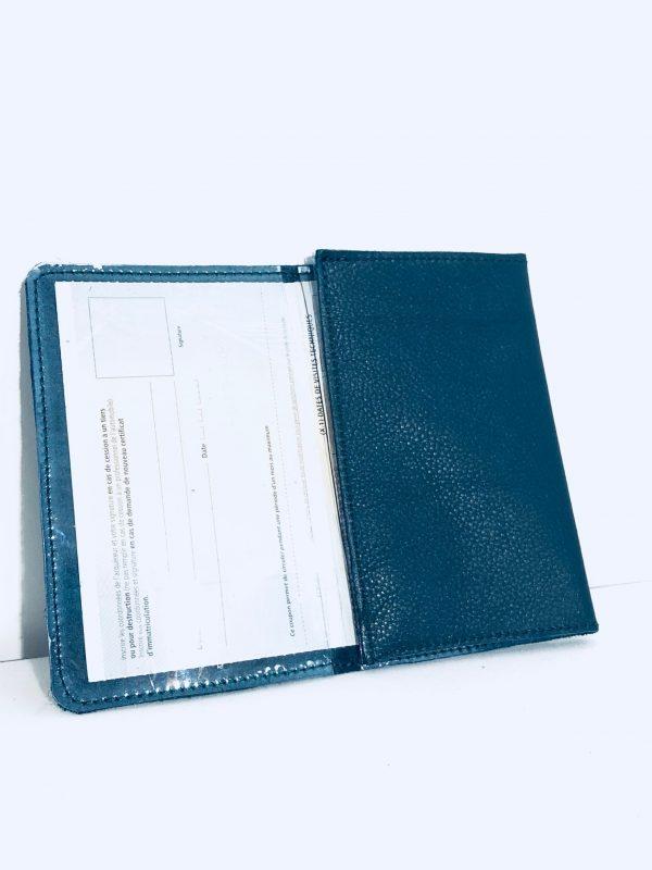 Porte Carte (carte grise) certificat d'immatriculation