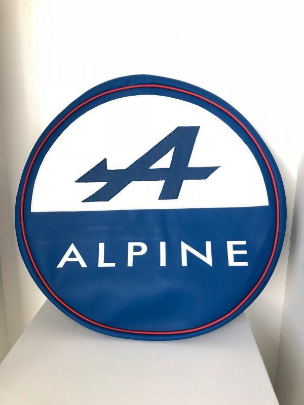 Renault Alpine A110 Berlinette A310 A610 A610V6 V6GT GTA housse roue secours bleu blanc rouge