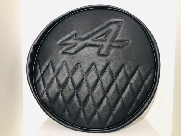 Renault Alpine A110 Berlinette A310 A610 A610V6 V6GT GTA black spare wheel cover