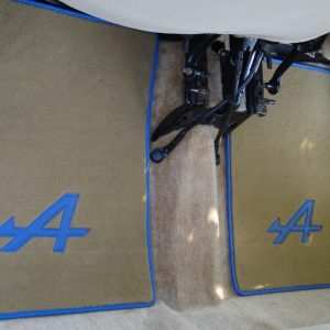 renault 5 turbo R5T1 5RT2 R5T on carpet R5A Alpine blue beige