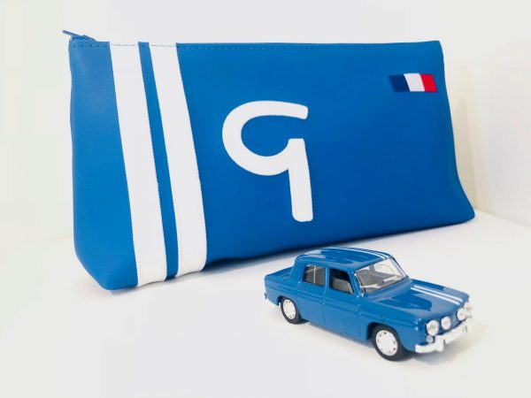 Renault gordini sports alpine sports saddlers of the estate made in france blue