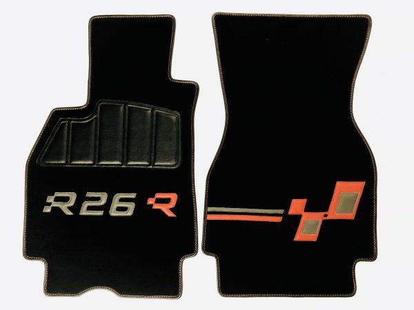Renault Megane Mégane RS R26 R26R kit moquette noir rouge