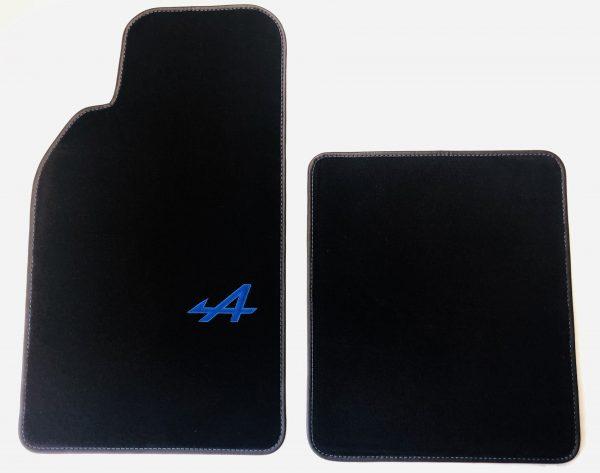 Renault Alpine A110 berlinette tapis de sol noir moquette