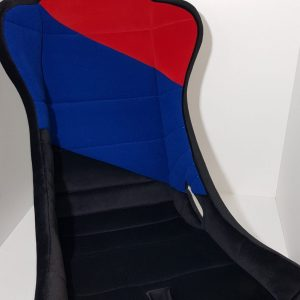 Seat mod'plastia rally sport black blue red tub