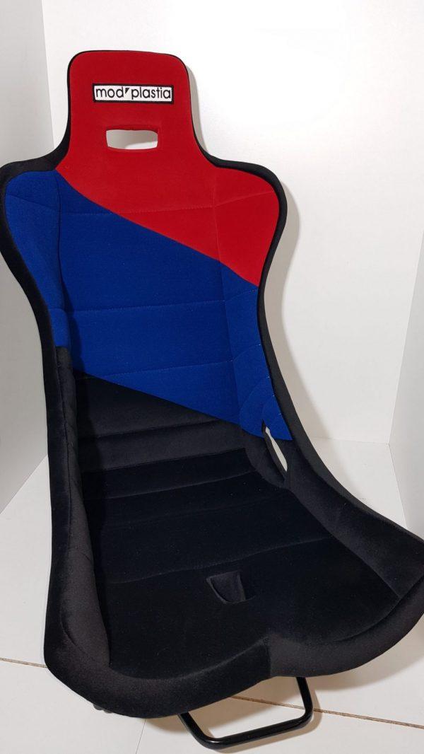 Seat mod'plastia rally sport black blue red tub