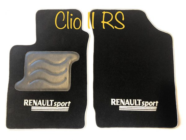 Renault Clio 2RS RS 2 carpet on black saddlers of the domain
