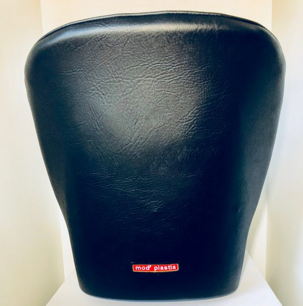 MJ Matra Djet black leather bucket seat