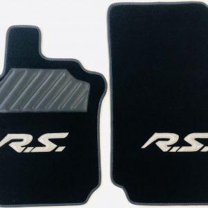Renault Clio 3RS RS 3 tapis sur-tapis sur noir selliers du domaine