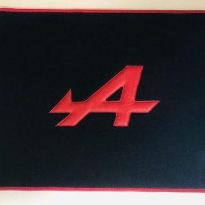 Renault Alpine Berlinette tapis de coffre amovible noir rouge A110 A310 A610