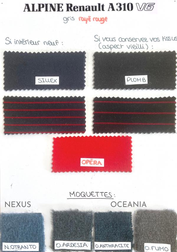 Tissus origine Alpine vendu au mètre linéaire (160 cm) le tissu est contrecollé sur une mousse de 3 mm