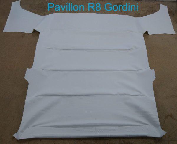 Renault 8 R8 Gordini pavilion