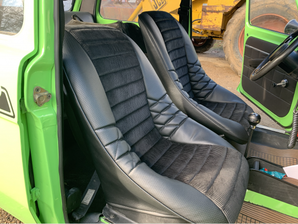 Simca 1200 Rallye 2 sièges baquet