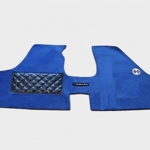 Renault 12 R12 Gordini tapis personnalisés personnalisé bleu