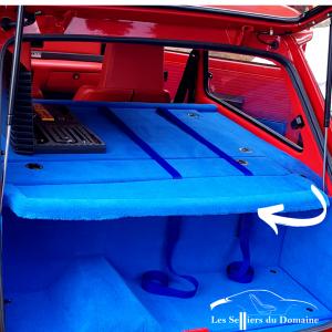 Plage arrière amovible en polyester Renault 5 Turbo R5T T1