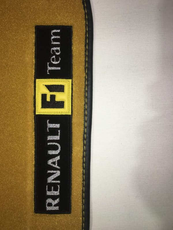 Renault sport Mégane Megane R26 RS 3 carpet mat on saddlers of the black black field sirius